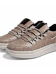 hesapli -Erkek Ayakkabı PU Kış Spor Ayakkabısı Dış mekan için Beyaz / Siyah / Kahverengi