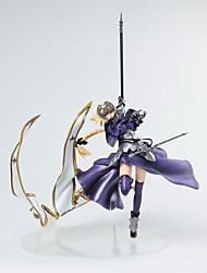 Недорогие -Аниме Фигурки Вдохновлен Fate / zero Jeanne d'Arc ПВХ 31 cm См Модель игрушки игрушки куклы