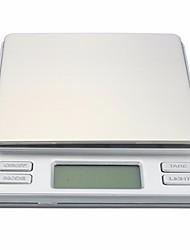 Недорогие -2000g/0.1g Высокое разрешение Мини-карманная цифровая шкала Семейная жизнь Кухня ежедневно