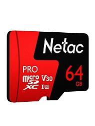 Недорогие -Netac 64 Гб карта памяти UHS-I U3 / V30 P500pro
