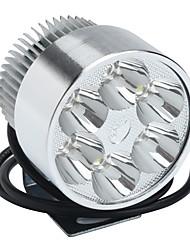 Недорогие -12v 30w мотоцикл мопед мопед высокой мощности прожектор водонепроницаемый светодиодные фары