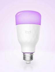 Недорогие -YEELIGHT 1шт 10 W 800 lm E26 / E27 Умная LED лампа 1 Светодиодные бусины Smart / Контроль APP / Диммируемая Multi-цветы 100-240 V
