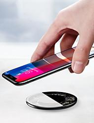 billiga Telefoner och Tabletter Laddare-Trådlös laddare USB-laddare USB Trådlös laddare / Qi 1 USB-port 2.1 A DC 5V för Universell