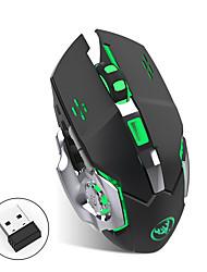 Недорогие -OEM Беспроводная 2.4G Gaming Mouse / Управление мышью M70GY 6 pcs ключи LED подсветка 6 Регулируемые уровни DPI 6 программируемых клавиш 2400 dpi