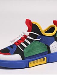 お買い得  -男の子 靴 ピッグスキン 春 & 秋 コンフォートシューズ スニーカー ランニング のために 子供 Brown / ブルー