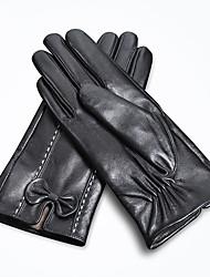 Недорогие -Полныйпалец Жен. Мотоцикл перчатки Кожа Сенсорный экран / Сохраняет тепло / Износостойкий