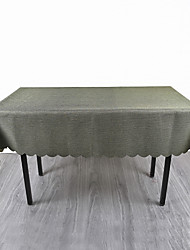 cheap -Contemporary Acetate Square Table Linens Solid Colored Eco-friendly Heat Resistant Table Decorations