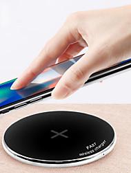 Недорогие -Беспроводное зарядное устройство Зарядное устройство USB USB Беспроводное зарядное устройство / Qi 1 USB порт 1.1 A / 1 A DC 9V / DC 5V для iPhone X / iPhone 8 Pluss / iPhone 8
