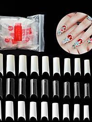 abordables -500pièces Bouts D'ongles Artificiels Meilleure qualité Série romantique Manucure Manucure pédicure PVC Elégant / Original Quotidien