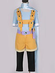 baratos -Inspirado por Fantasias Fantasias Anime Fantasias de Cosplay Ternos de Cosplay Design Especial / Inovador Blusa / Calças / Luvas Para Homens / Mulheres