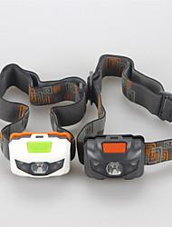 Недорогие -Налобные фонари Светодиодная лампа Cree® XP-E R3 3 излучатели 500 lm 4.0 Режим освещения Тактический Водонепроницаемый Ударопрочный