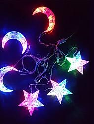 abordables -Décorations de vacances Nouvel An / Décorations de Noël Eclairage de Noël Décorative Multi-couleurs 1pc