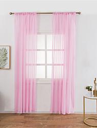 Недорогие -Modern Light-фильтрация 1 панель Лечение окно Спальня   Curtains