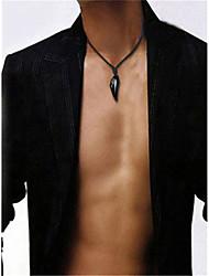 Недорогие -Муж. Цепочка Черный Желтый Синий 50 cm Ожерелье Бижутерия 1шт Назначение Повседневные фестиваль