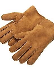 Недорогие -замшевые утолщенные перчатки теплая зима для велосипеда мотоцикла велосипед катание на лыжах скейтборд мужчины