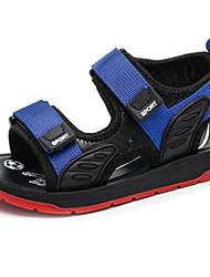 Недорогие -Мальчики Обувь Кожа Лето Удобная обувь Сандалии для Дети / Для подростков Красный / Синий