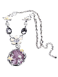 Недорогие -Жен. Мода Свитер ожерелье Однотонный