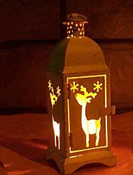 hesapli -Tatil Süslemeleri Yeni Yıl'ınkiler / Noel Dekorayonu Yılbaşı Işıkları / Noel Süsler Dekorotif Beyaz 1pc