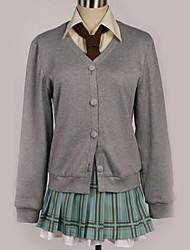Недорогие -Вдохновлен Хаганаи Косплей Аниме Косплэй костюмы Косплей Костюмы Современный стиль Пальто / Блузка / Кофты Назначение Муж. / Жен.