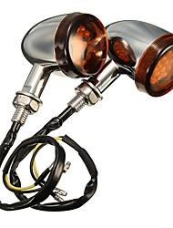 halpa -2pcs Moottoripyörä Lamput 10 W 300 lm 16 Suuntavilkku Käyttötarkoitus Halley Kaikki vuodet