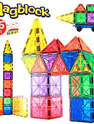 Недорогие -Магнитные плитки 86 pcs Креатив Геометрический узор Градиент цвета Все Мальчики Девочки Игрушки Подарок