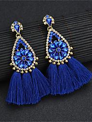 economico -Per donna Blu Nappa Orecchini a goccia - Boho Gioielli Blu Per Palco Per eventi / 1 paio