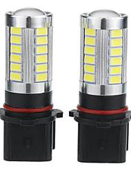 Недорогие -2pcs P13W Автомобиль Лампы 5 W 500 lm 33 Светодиодная лампа Противотуманные фары / Фары дневного света Назначение Универсальный / Volkswagen / Toyota Дженерал Моторс Все года