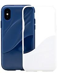 Недорогие -Кейс для Назначение SSamsung Galaxy S9 / S9 Plus / S8 Plus Защита от удара / Защита от пыли / Защита от влаги Кейс на заднюю панель Полосы / волосы Мягкий ТПУ / ПК