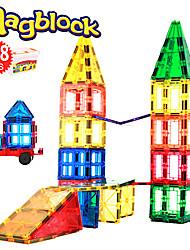 Недорогие -Магнитный конструктор Магнитные плитки 108 pcs Геометрический узор Все Мальчики Девочки Игрушки Подарок