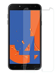 Недорогие -Samsung GalaxyScreen ProtectorJ4 Уровень защиты 9H Защитная пленка для экрана 1 ед. Закаленное стекло