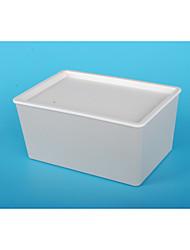 Недорогие -PP Прямоугольная Новый дизайн Главная организация, 1шт Коробки для хранения