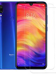 Недорогие -XIAOMIScreen ProtectorRedmi Note 7 Уровень защиты 9H Защитная пленка для экрана 2 штs Закаленное стекло