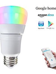 Недорогие -E27 светодиодные умные лампочки wifi шарики smd 5730 работает с амазонкой алексой / управление приложениями / google home rgbw 85-265v