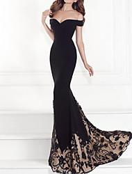 Недорогие -Жен. Оболочка Платье - Однотонный Макси