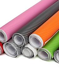 Недорогие -2 м х 60 см поделки 3d углеродного волокна виниловая пленка наклейка наклейка наклейка автомобиля воздуха