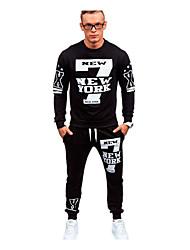 halpa -Miesten Perus College / activewear Set - Yhtenäinen
