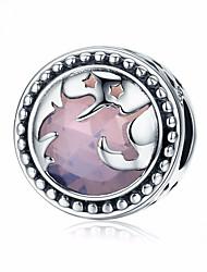 Недорогие -Море / Лошадь / Голова лошади Бусины Ювелирные изделия DIY - Коллекция из бусинок / Профессиональный / Круглый дизайн Пурпурный Браслеты Ожерелье