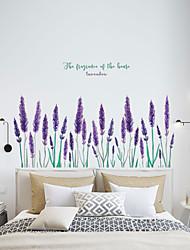 Недорогие -Декоративные наклейки на стены - Простые наклейки Цветочные мотивы / ботанический Гостиная / Спальня / Кухня