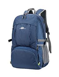 저렴한 -36-55 L 배낭 - 착용 가능한 집 밖의 하이킹, 등산, 캠핑 나일론 블랙, 블루, 바이올렛