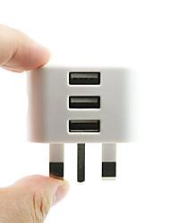 Недорогие -универсальный 3-портовый USB-штекер 3-контактный настенный адаптер зарядного устройства с 3-мя портами USB зарядное устройство для зарядки для телефона x samsung s