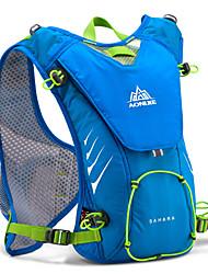 halpa -AONIJIE 8 L Selkäreput Hydration Backpack Pack Kevyt Hengittävä Nopea kuivuminen Kulutuskestävyys Ulko- Kilpailu Juoksu Hölkkä Polyesteri Nylon Fuksia Punainen Sininen / Yes