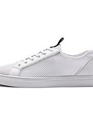 זול -בגדי ריקוד גברים נעלי נוחות רשת קיץ נעלי ספורט לבן / שחור