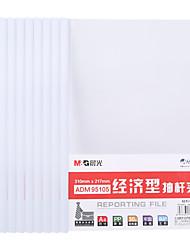 Недорогие -10 pcs M&G ADM95105 Папки файлов A4 PVC Прозрачный