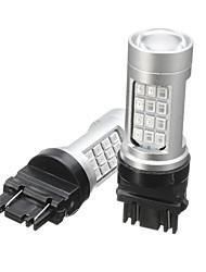 Недорогие -2шт 3157 42led красный задний сигнал безопасности автомобиля тормозной задний стоп-сигнал лампы мигающие стробоскопы лампы