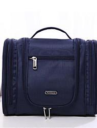 저렴한 -옥스퍼드 섬유 한 색상 기내 가방 지퍼 한 색상 페일 블루 / 퓨샤 / 네이비 블루