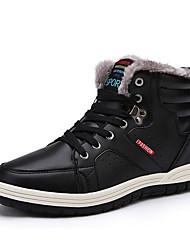 Χαμηλού Κόστους -Ανδρικά Fashion Boots PU Φθινόπωρο & Χειμώνας Μπότες Μποτίνια Μαύρο / Μπλε