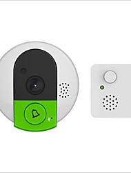Недорогие -WIFI Встроенный из спикера Нет экрана (выход на APP) Гарнитура Один к одному видео домофона