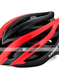 Недорогие -Kingbike Взрослые Мотоциклетный шлем 7 Вентиляционные клапаны CE Формованный с цельной оболочкой Легкий вес прибыль на акцию ПК Виды спорта Шоссейный велосипед Горный велосипед На открытом воздухе -