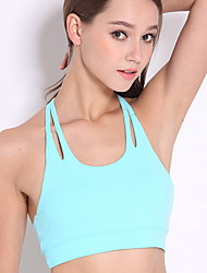 cheap -Women's EU / US Size Touch of Sensation 3/4 Cup Bras Sports Bras Solid Colored Polyester