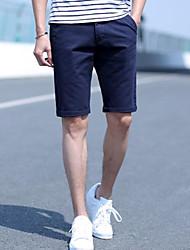 povoljno -muške kratke hlače od kratkih hlača - boja narančasta